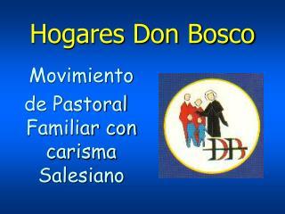 Hogares Don Bosco