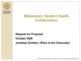 Midwestern Student Health Collaboration