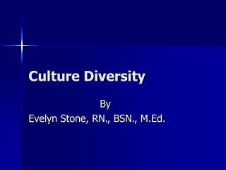 Culture Diversity