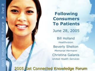 2005 Get Connected Knowledge Forum
