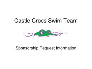 Castle Crocs Swim Team
