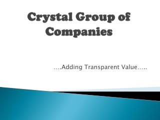 Crystal Group of Companies