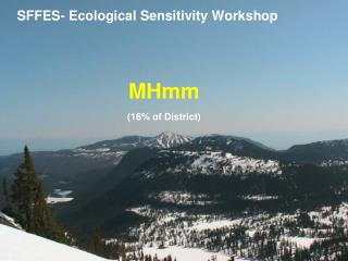 SFFES- Ecological Sensitivity Workshop