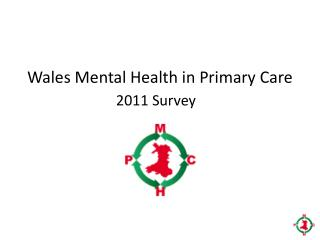 Wales Mental Health in Primary Care