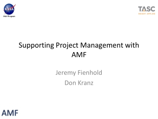14.4 Project Organization