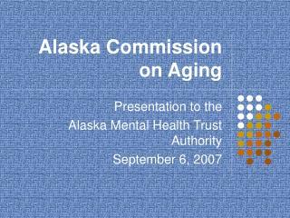 Alaska Commission on Aging