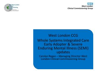 West London CCG