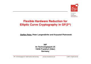 Flexible Hardware Reduction for Elliptic Curve Cryptography in GF(2 m )