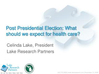 Post Presidential Election: What should we expect for health care?