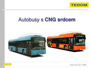 Autobusy s  CNG srdcem