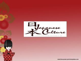 Culture/  Bunka