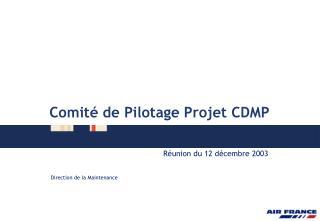 Comit� de Pilotage Projet CDMP