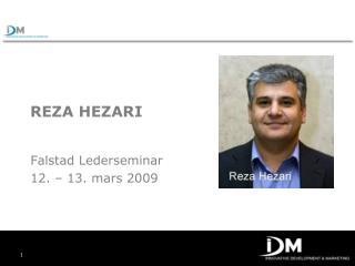 REZA HEZARI