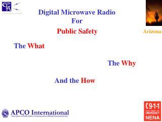 Digital Microwave Radio  For