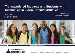 Transgendered Students and Students with Disabilities in Extracurricular Athletics
