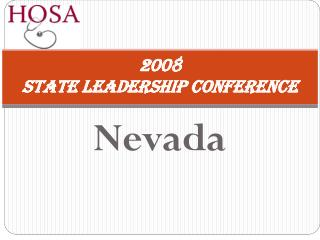 2008  State Leadership Conference