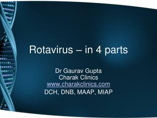 Rotavirus – in 4 parts