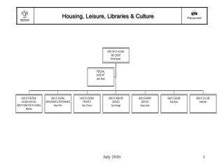 Housing, Leisure, Libraries & Culture