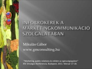 Mikulás Gábor gmconsulting.hu