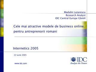 Cele mai atractive modele de business online pentru antreprenorii romani