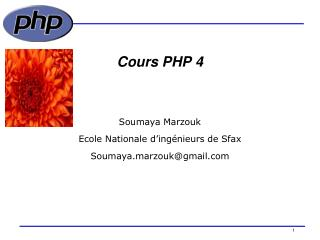 Cours PHP 4