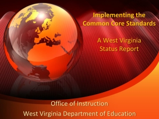 ELA Common Core Standards Curriculum Project