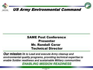 US Army Environmental Command