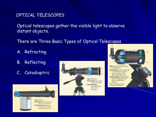 OPTICAL TELESCOPES
