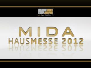 """zur Hausmesse der  Mida  Group und  Markteinführung der """" Branded  Gold GmbH"""""""