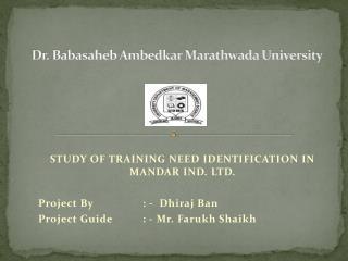 Dr. Babasaheb Ambedkar Marathwada University