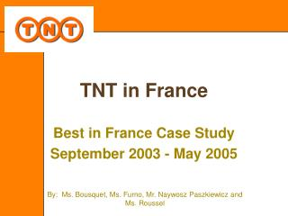 TNT in France