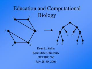 Education and Computational Biology