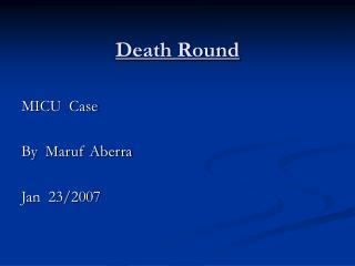 Death Round