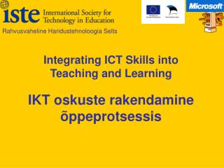 IKT oskuste rakendamine õppeprotsessis