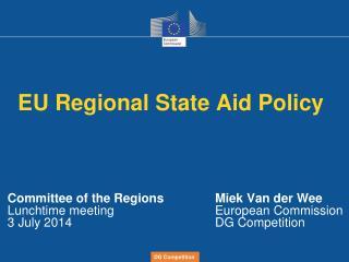 EU Regional State Aid Policy