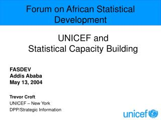Forum on African Statistical Development