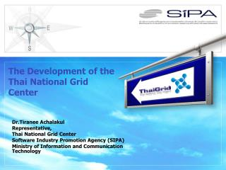 The Development of the Thai National Grid Center