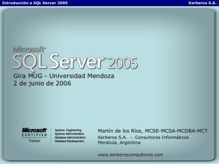 Gira MUG - Universidad Mendoza 2 de junio de 2006