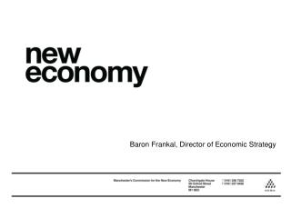 Baron Frankal, Director of Economic Strategy