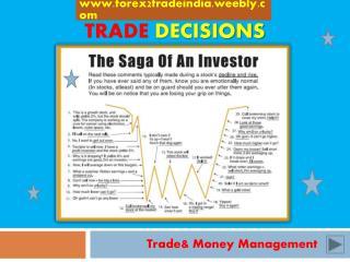 Trade decisions
