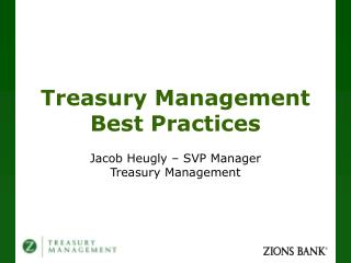 Treasury Management Best Practices