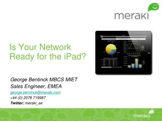 Is Your Network Ready for the iPad?