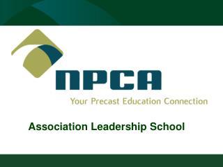 Association Leadership School