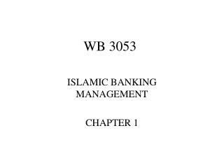 WB 3053