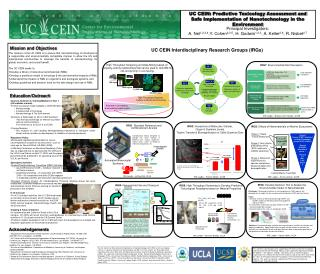 UC Center for Environmental Implications of Nanotechnology 083017