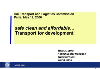 Transport Forum 2005