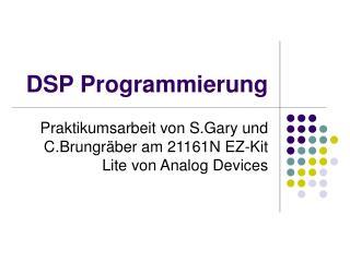DSP Programmierung