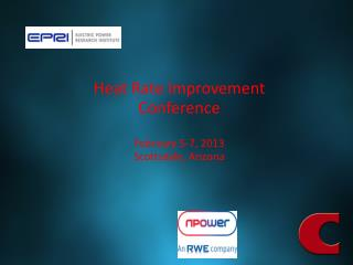 Heat Rate Improvement Conference