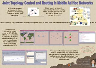 Joint Topology Control and Routing in Mobile Ad Hoc Networks