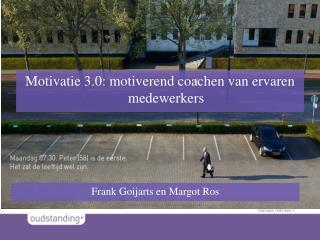 Motivatie 3.0: motiverend coachen van ervaren medewerkers